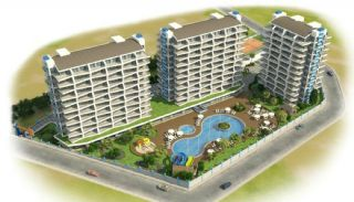 Modern Designed Apartments Close to the Beach in Alanya, Property Plans-1