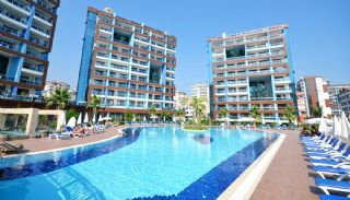 Apartments in Luxury Complex with Private Beach in Alanya, Alanya / Cikcilli