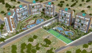 Apartments in Luxury Complex with Private Beach in Alanya, Property Plans-7