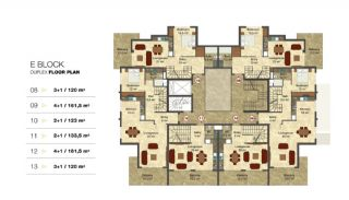 Privileged Apartments in a Luxurious Complex in Alanya, Property Plans-6