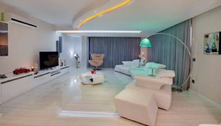Panoramic Sea View Flats with 5-Star Hotel Concept in Alanya, Interior Photos-3