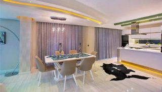 Panoramic Sea View Flats with 5-Star Hotel Concept in Alanya, Interior Photos-4