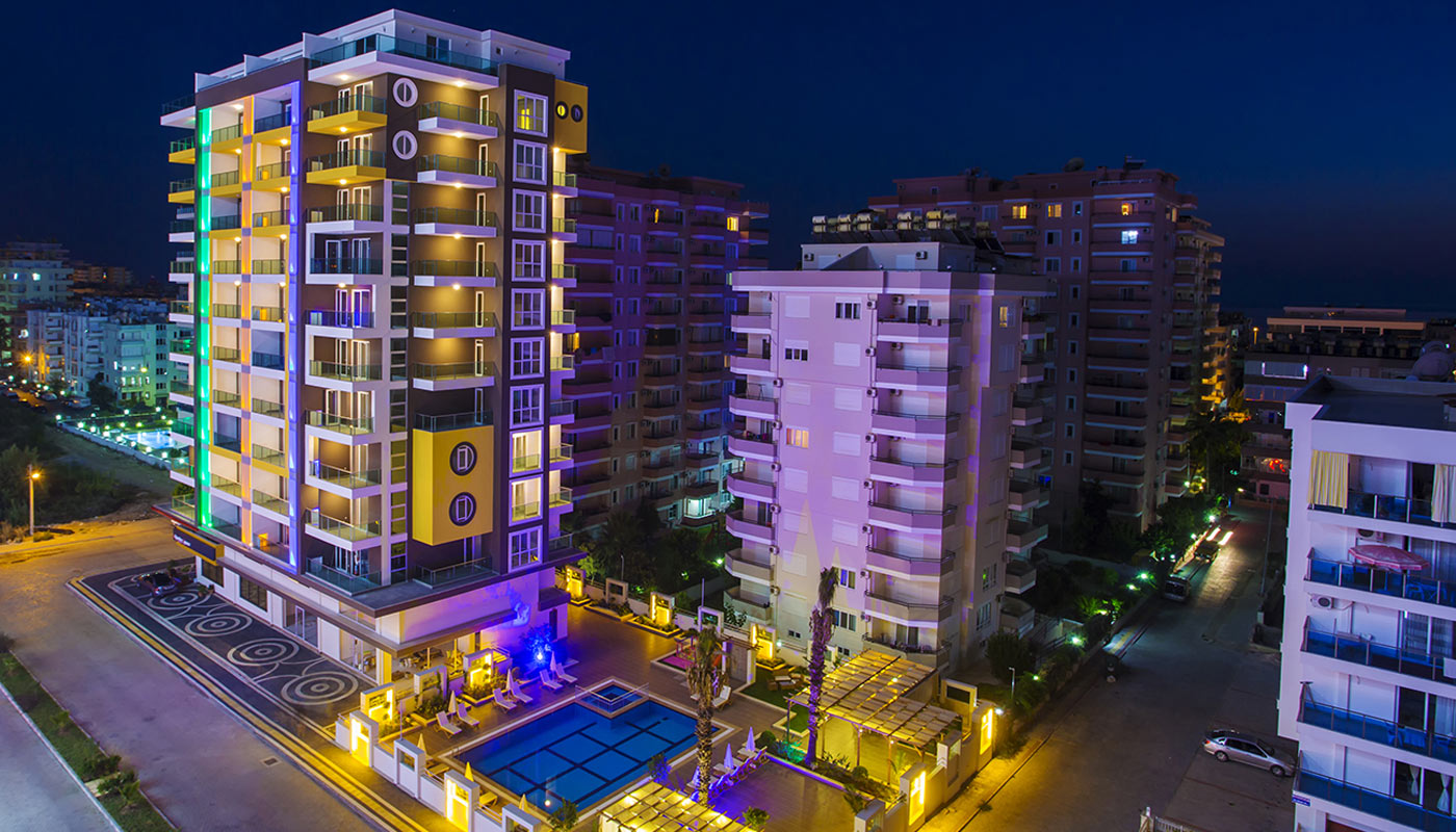 Casa Bianca Residence Apartments In Alanya With 5 Star