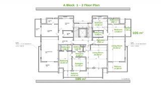 Besondere Wohnungen in Alanya, Immobilienplaene-1