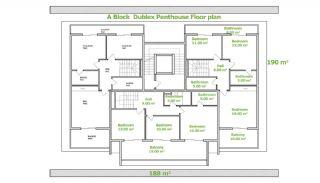 Эксклюзивные Квартиры в Алании, Планировка -3