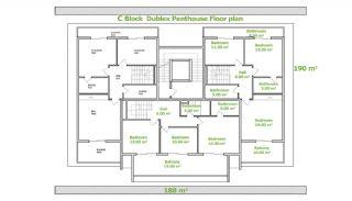 Besondere Wohnungen in Alanya, Immobilienplaene-8