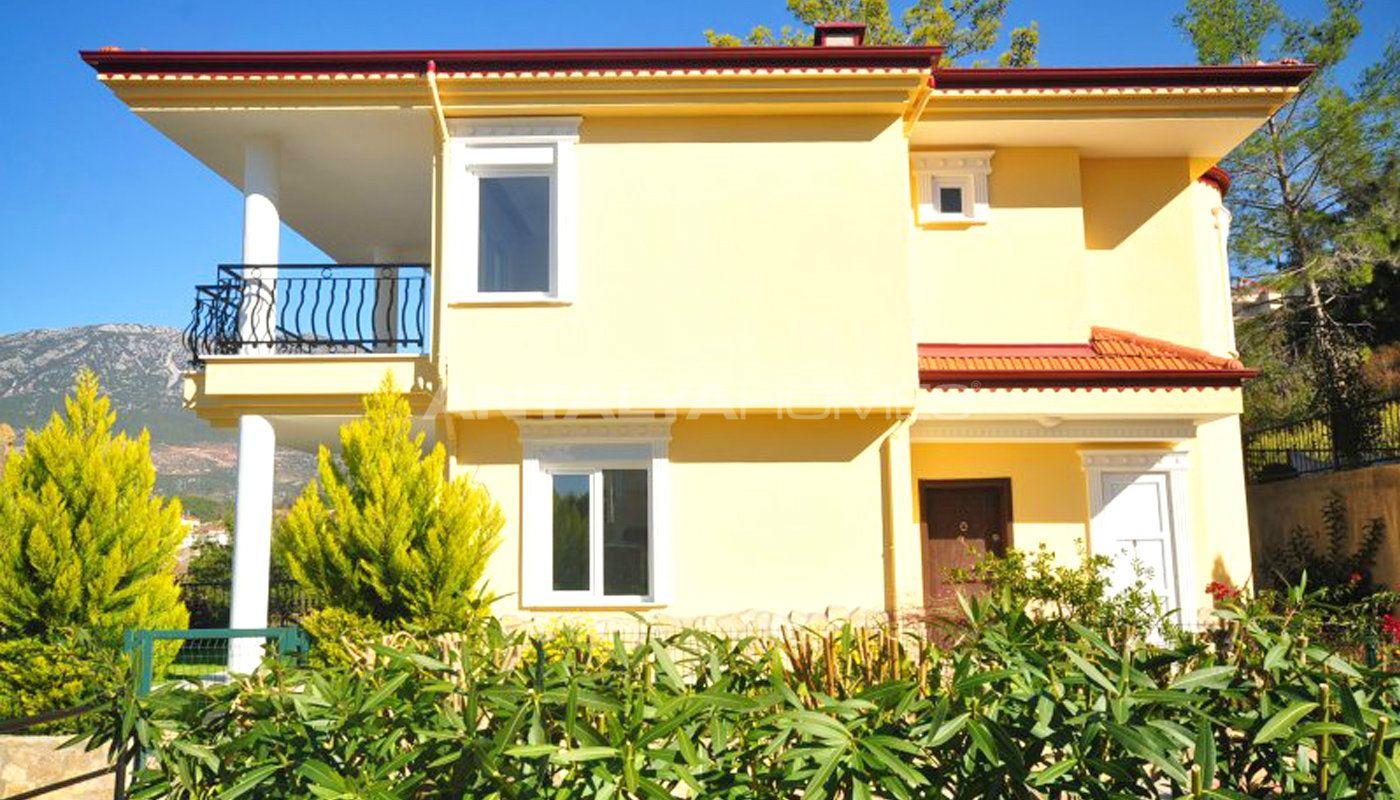 Nouvelle villa individuelle alanya avec vue imprenable for Villa individuelle