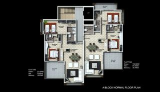 Buy New Flats for Sale in Alanya, Property Plans-1