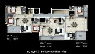Buy New Flats for Sale in Alanya, Property Plans-2