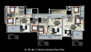 Buy New Flats for Sale in Alanya, Property Plans-3