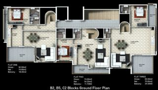 Buy New Flats for Sale in Alanya, Property Plans-5