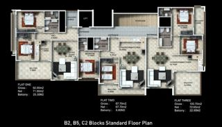 Buy New Flats for Sale in Alanya, Property Plans-6