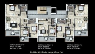Buy New Flats for Sale in Alanya, Property Plans-7