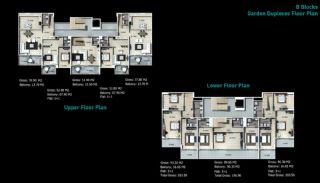 Kaufe neue Villen in Alanya, Immobilienplaene-3