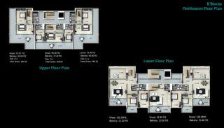 Kaufe neue Villen in Alanya, Immobilienplaene-4