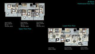 Kaufe neue Villen in Alanya, Immobilienplaene-6