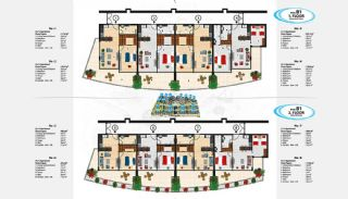 Sea View Apartments in Alanya for Sale, Property Plans-7