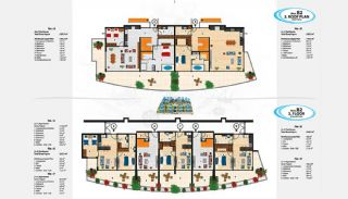 Sea View Apartments in Alanya for Sale, Property Plans-10