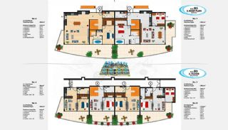 Sea View Apartments in Alanya for Sale, Property Plans-12