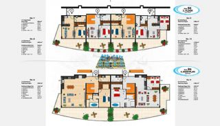 Sea View Apartments in Alanya for Sale, Property Plans-16