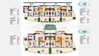 Sea View Apartments in Alanya for Sale, Property Plans-18
