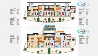 Sea View Apartments in Alanya for Sale, Property Plans-20