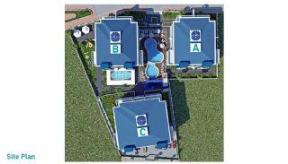 Luxus Alanya Wohnungen zum Verkauf, Immobilienplaene-1