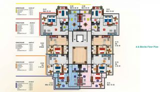 Luxury Alanya Apartments for Sale, Property Plans-2