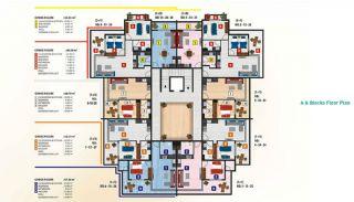 Luxus Alanya Wohnungen zum Verkauf, Immobilienplaene-2