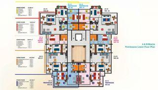 Luxus Alanya Wohnungen zum Verkauf, Immobilienplaene-3