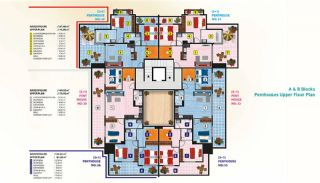 Luxury Alanya Apartments for Sale, Property Plans-4