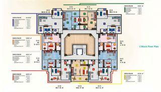 Luxus Alanya Wohnungen zum Verkauf, Immobilienplaene-5
