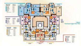 Luxus Alanya Wohnungen zum Verkauf, Immobilienplaene-7