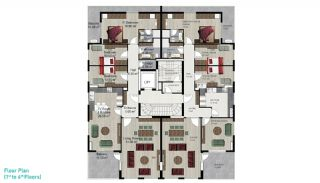 Spacious Alanya Apartments for Sale, Property Plans-2