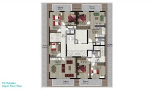 Spacious Alanya Apartments for Sale, Property Plans-4