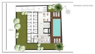 Ready Apartments in Alanya 100 mt to Cleopatra Beach, Property Plans-1