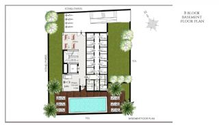 Ready Apartments in Alanya 100 mt to Cleopatra Beach, Property Plans-5