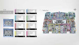 Kürzlich Beendete Alanya Immobilien zum Verkauf, Immobilienplaene-1