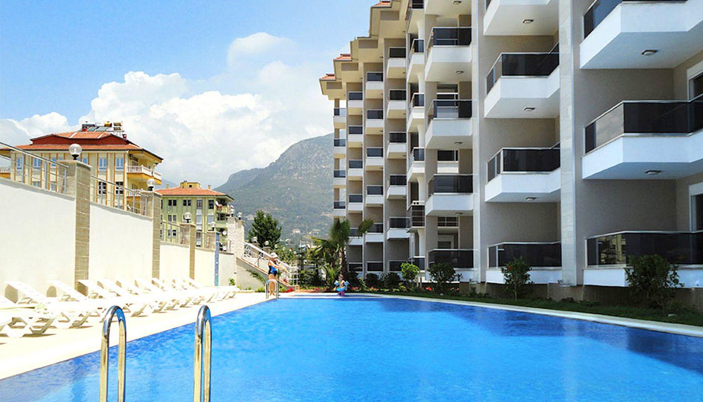 5 Sterne Hotel Konzept Wohnungen In Alanya