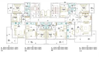 Купить Квартиры в Алании в Шаговой Доступности от Пляжа, Планировка -1