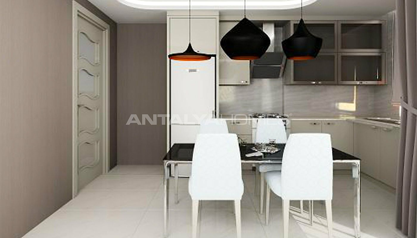 appartements de luxe vendre alanya dans un quartier calme. Black Bedroom Furniture Sets. Home Design Ideas