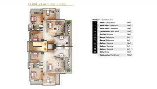 Luxury Apartments for Sale in Alanya City Center, Property Plans-6
