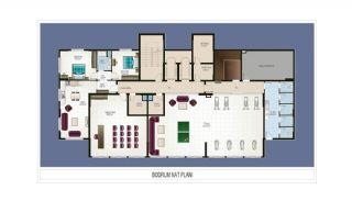 Элитные Квартиры в Махмутларе, Алания с Видом на Природу, Планировка -6