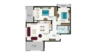 Ready Apartments in Alanya for Sale, Property Plans-6