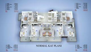 5 Yıldızlı Otel Standartlarında Satılık Daireler, Kat Planları-2