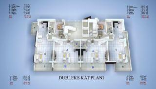 5 Yıldızlı Otel Standartlarında Satılık Daireler, Kat Planları-3