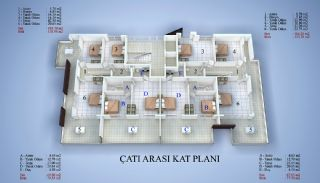 5 Yıldızlı Otel Standartlarında Satılık Daireler, Kat Planları-4