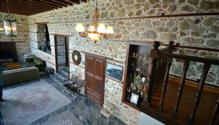 Antikes Haus innerhalb der Mauern von der Alanya Burg, Foto's Innenbereich-19