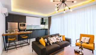 Excellent Apartments in The Attraction Center of Alanya, Interior Photos-13