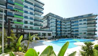 Sea View Apartments with Private Beach in Kargıcak, Alanya / Kargicak